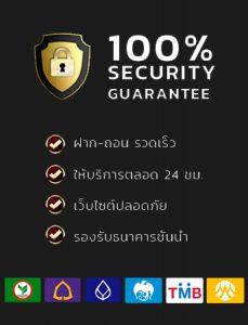 ปลอดภัย100%